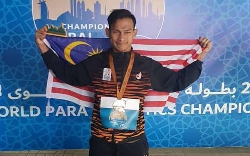 Atlet paralimpik Dikwan raih gangsa Olahraga Para Dunia