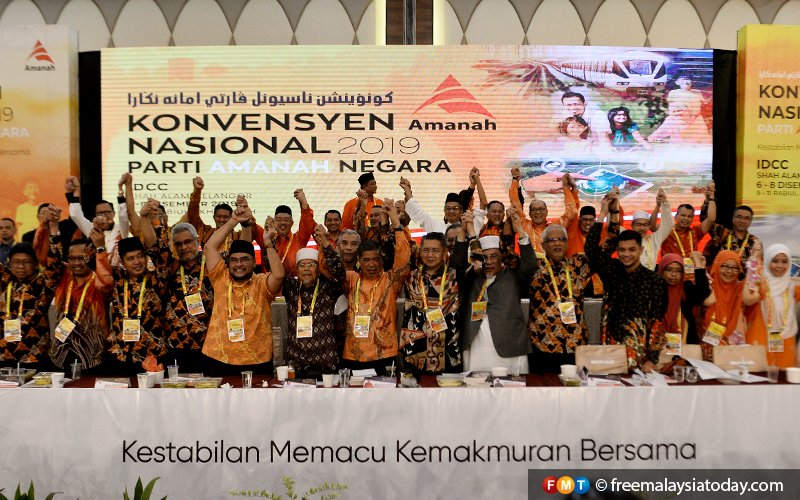 Despite being the smallest party in Pakatan Harapan, Amanah has a sizeable presence in the Cabinet, with five of its leaders appointed as ministers.