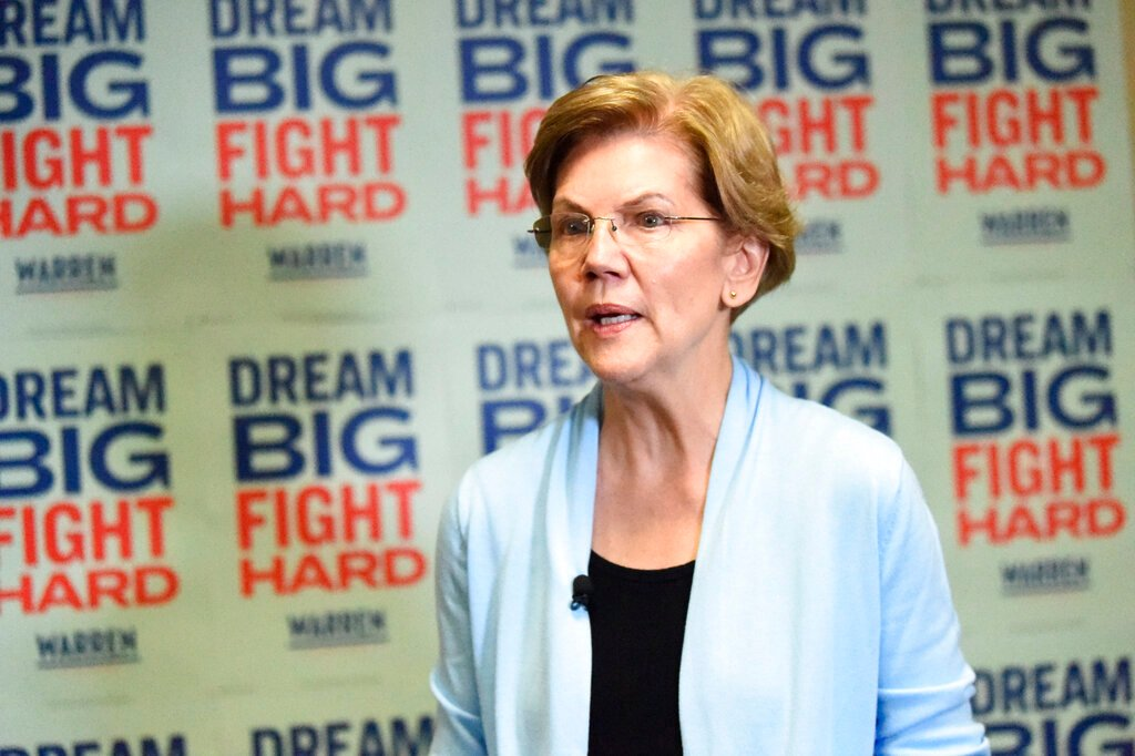 Warren made almost  $2 million from legal work
