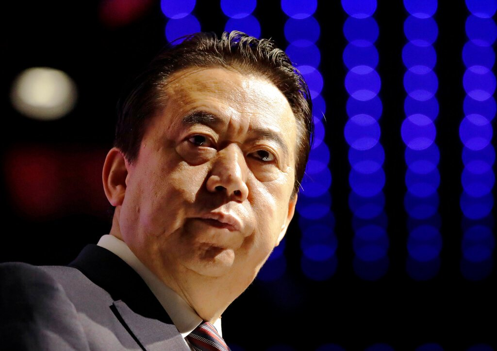 China court sentences ex-Interpol chief Meng Hongwei to prison