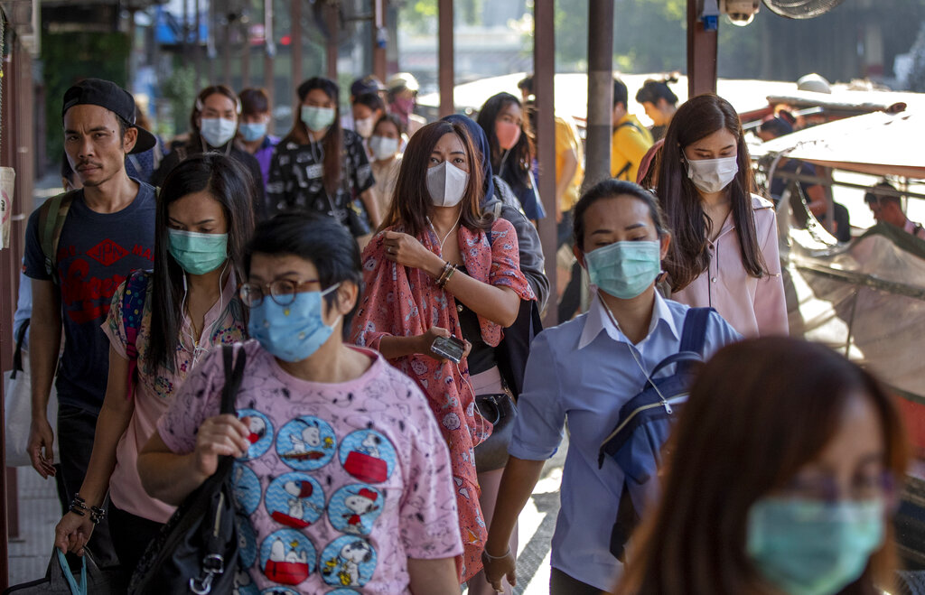 Thailand sees good result from using drug mixture on coronavirus patient