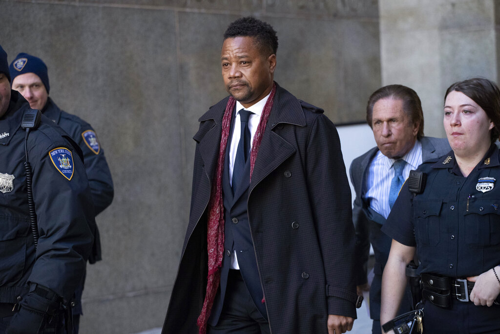 Actor Cuba Gooding to stand trial for groping in April