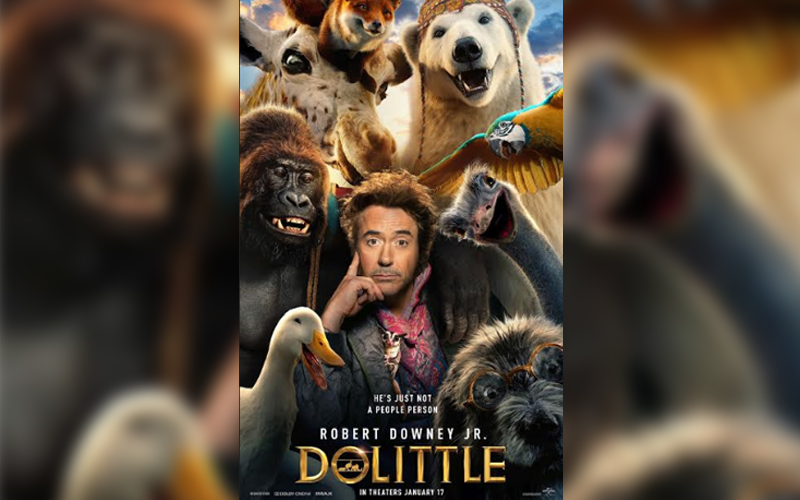 In Malaysian cinemas soon- Dolittle with Robert Downey Jr  Malaysia Today