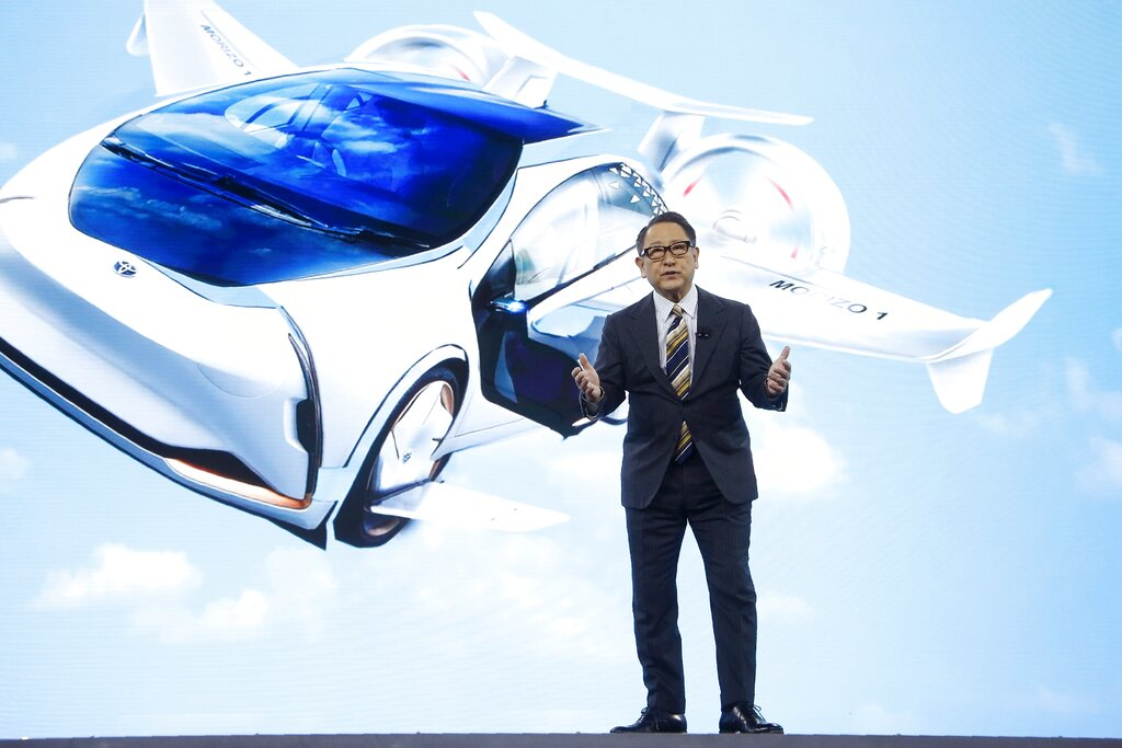 Toyota to invest $394m in U.S.  flying taxi startup Joby Aviation