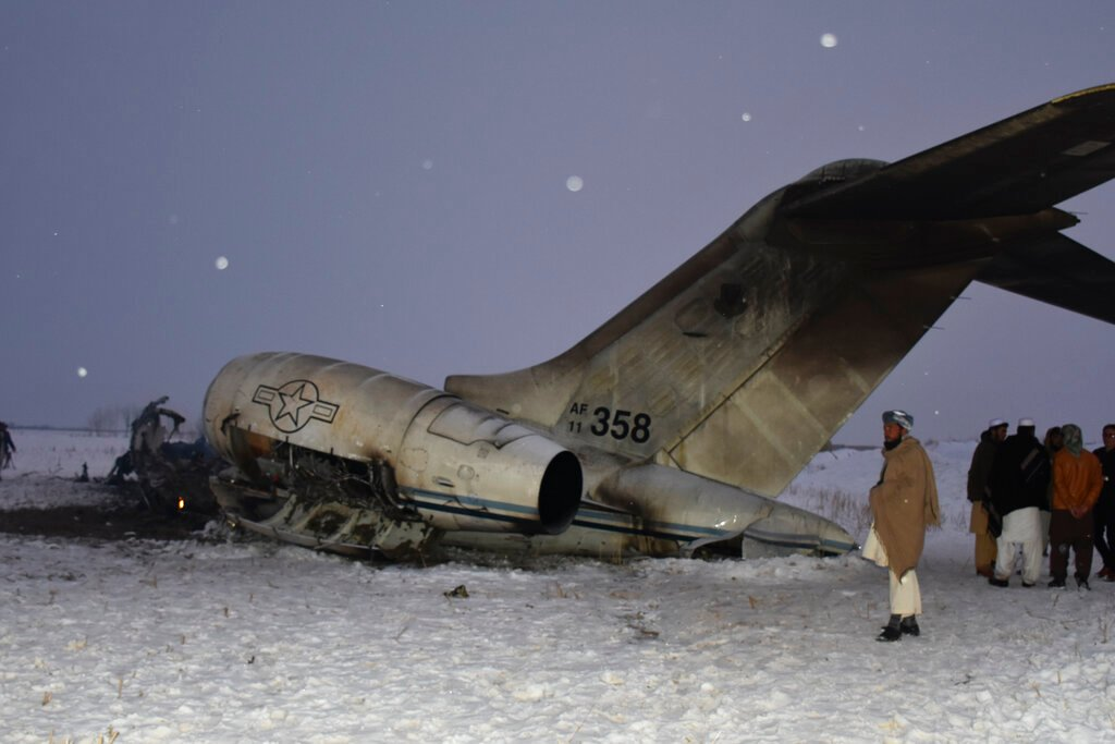 Ariana Airlines plane crashes in eastern Afghanistan