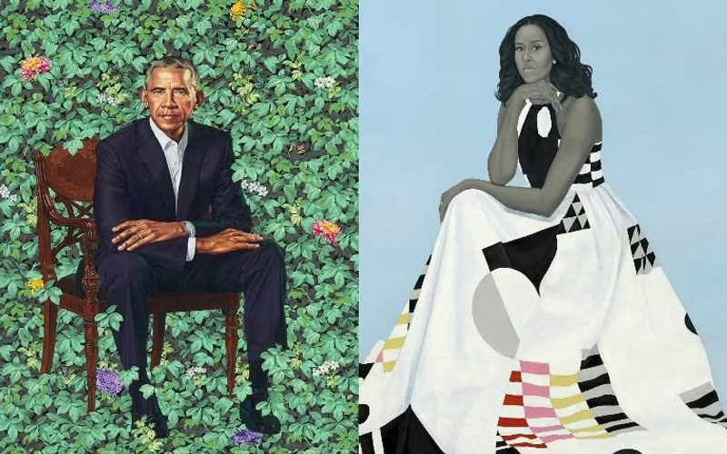 Obama Portrait Tour Brings Barack and Michelle Paintings to LACMA