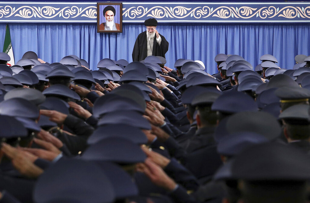 Khamenei says Iran should increase military might to prevent war