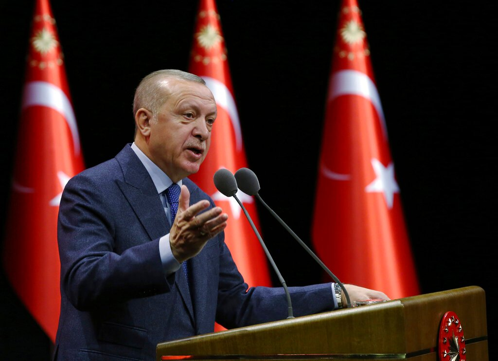 Buoyed by U.S., Erdogan Vows to Expel Syrian Forces From Idlib