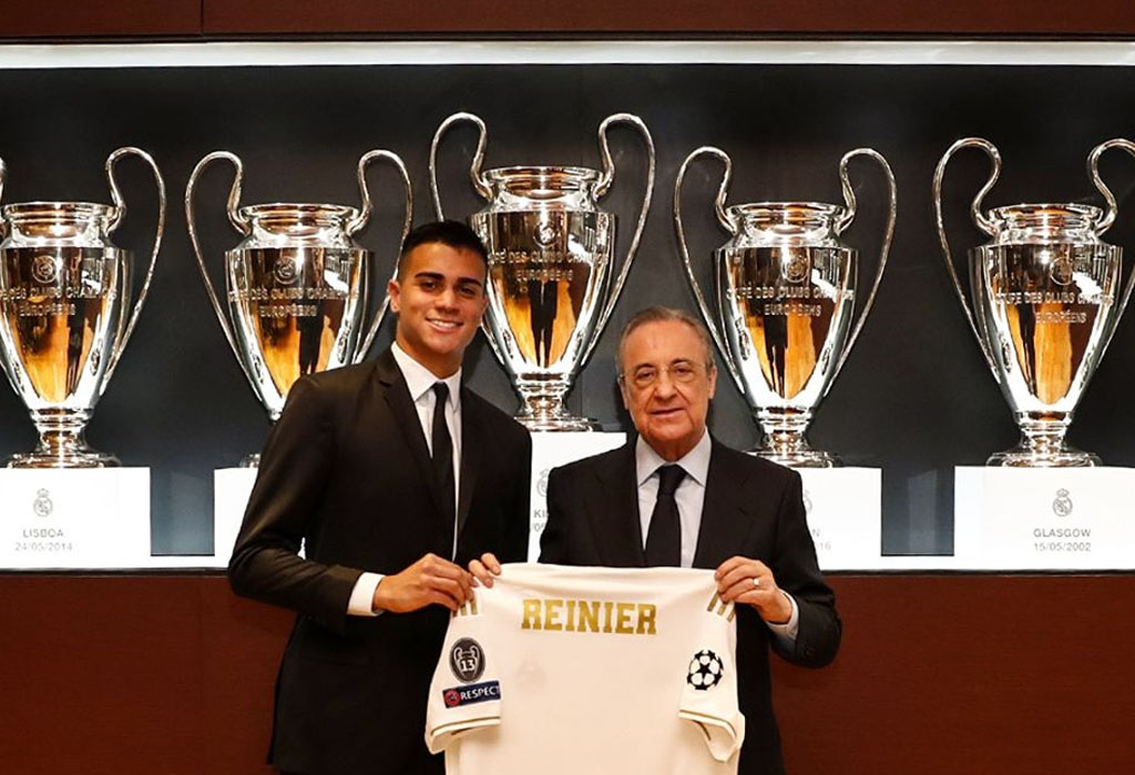 Reinier signing part of Real Madrid vision for future, says president