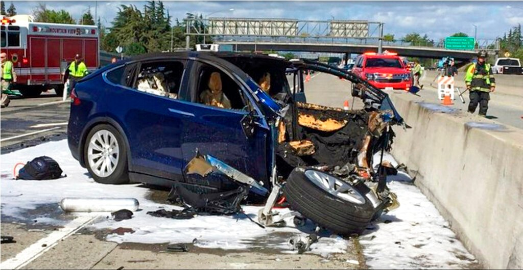 NTSB: Tesla Autopilot, Distracted Driver Caused Fatal Crash