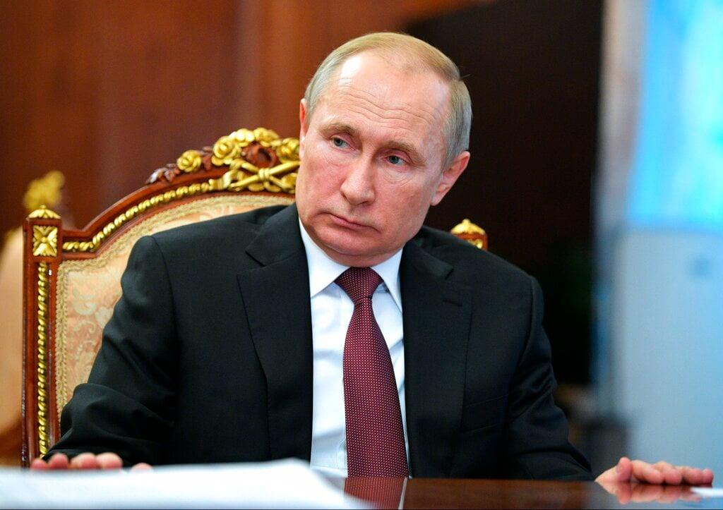 'I DECLINED': Vladimir Putin quashes rumours he uses body double