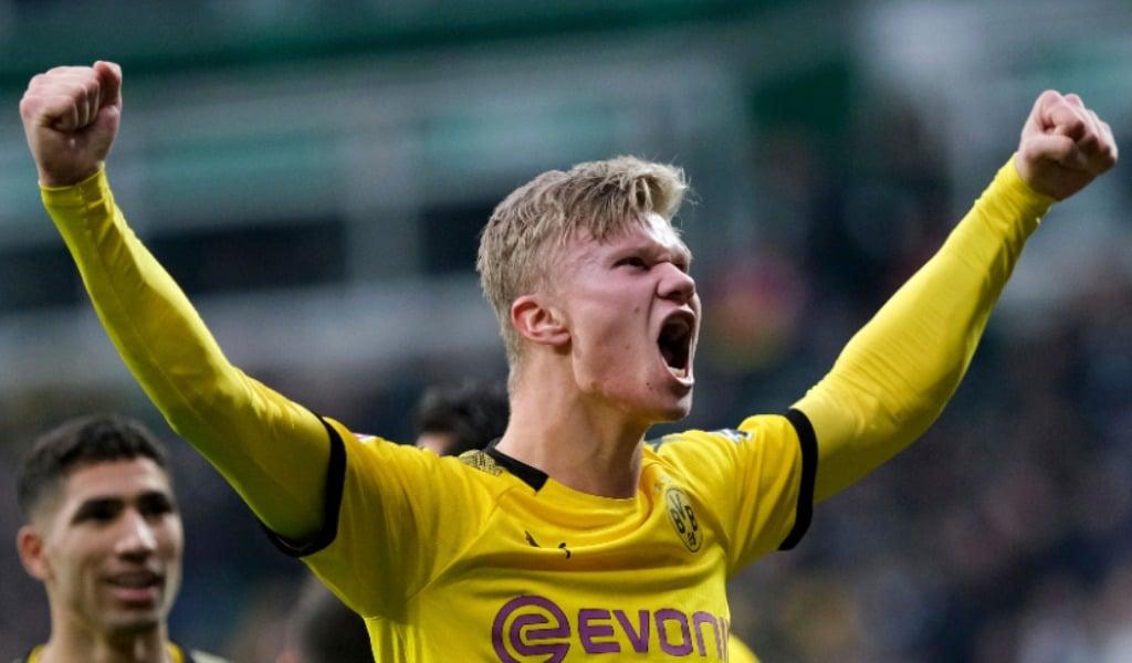 Dortmund Move 2nd As Haaland Hits 40th Goal Of Season