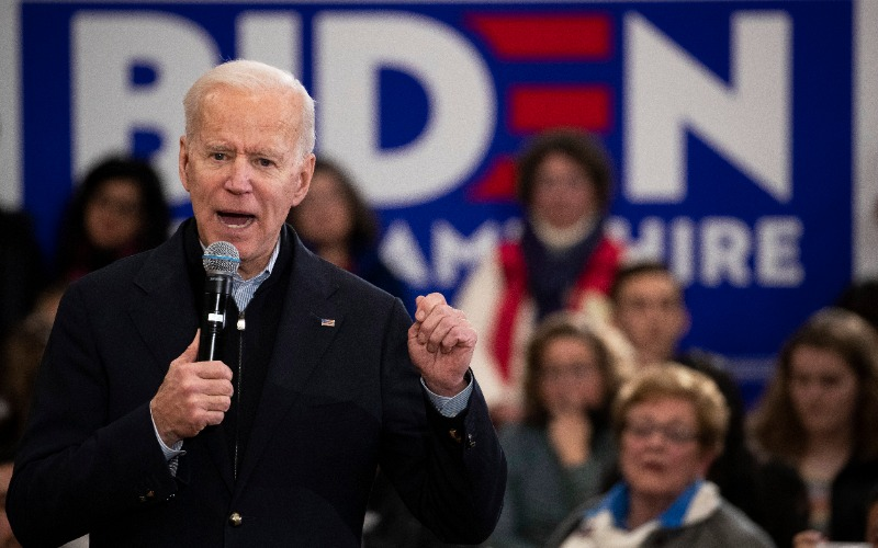 Biden in New Hampshire Calls Woman a 'Lying, Dog-Faced Pony Soldier'