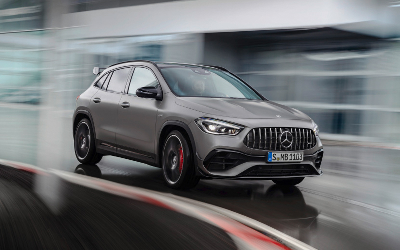 Mercedes Benz Reveals Sporty Lifestyle Oriented Gla 45 Amg Free Malaysia Today