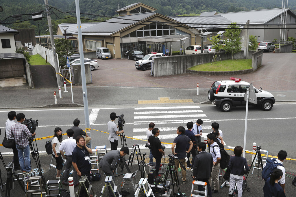 Japan man faces verdict in murder of 19 at disabled care home