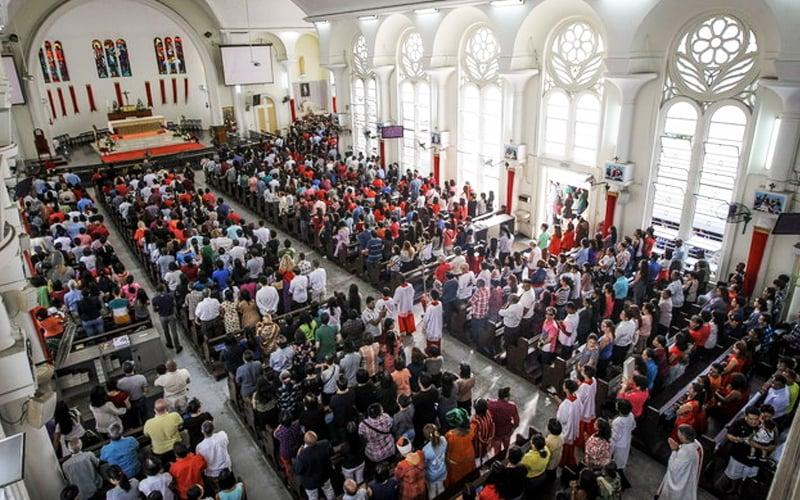 Masses, church activities suspended in Kuching