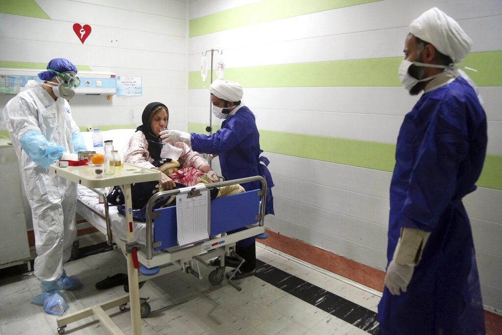 Iran's coronavirus deaths rise to 1,556, infections exceed 20,000: health ministry