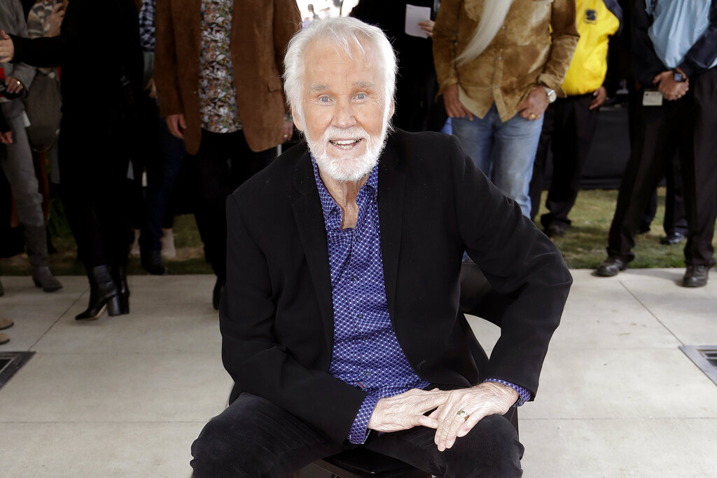 Country music star Kenny Rogers dead at 81