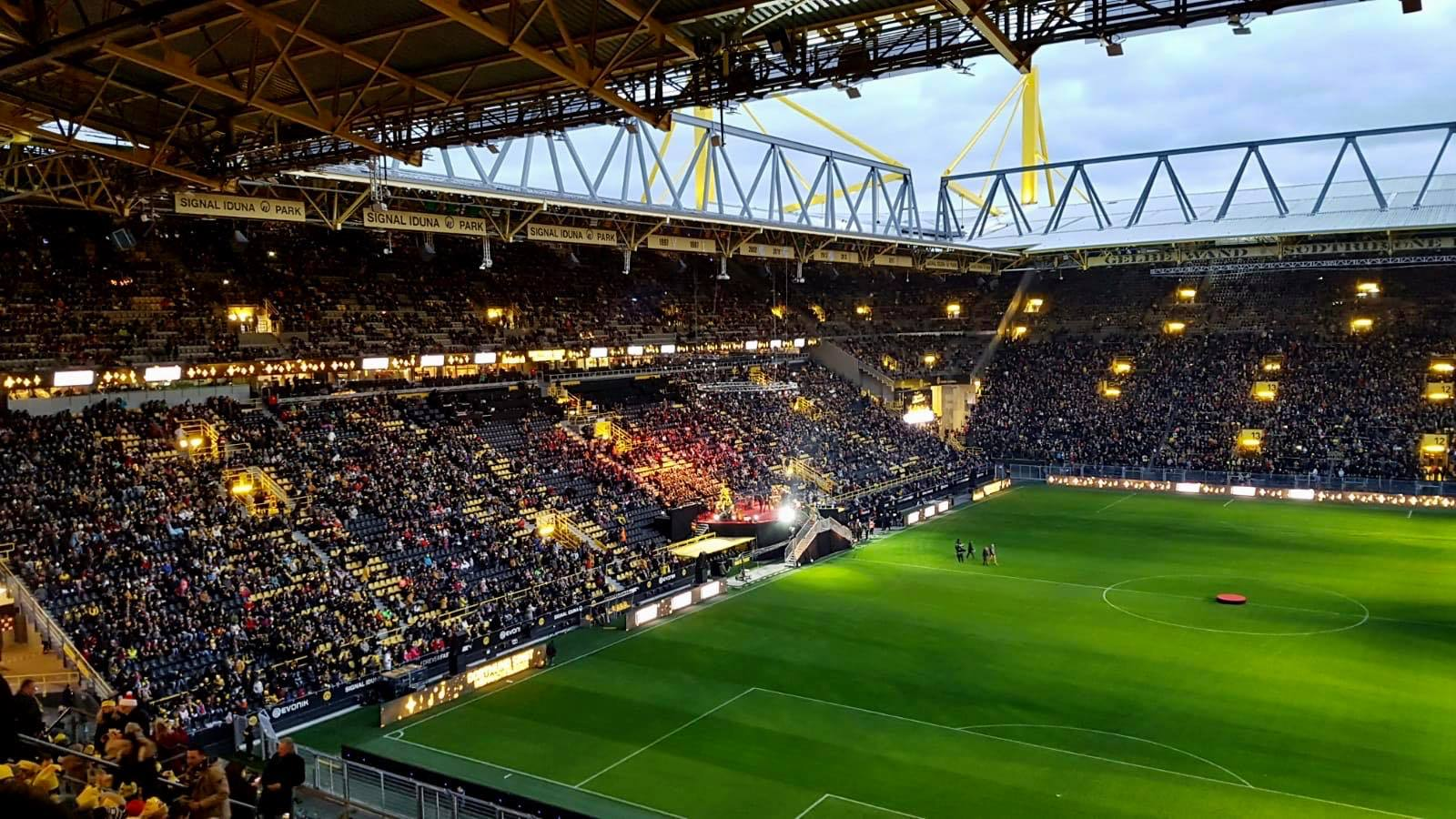 Dortmund Stadium To Be Used As Covid 19 Treatment Centre