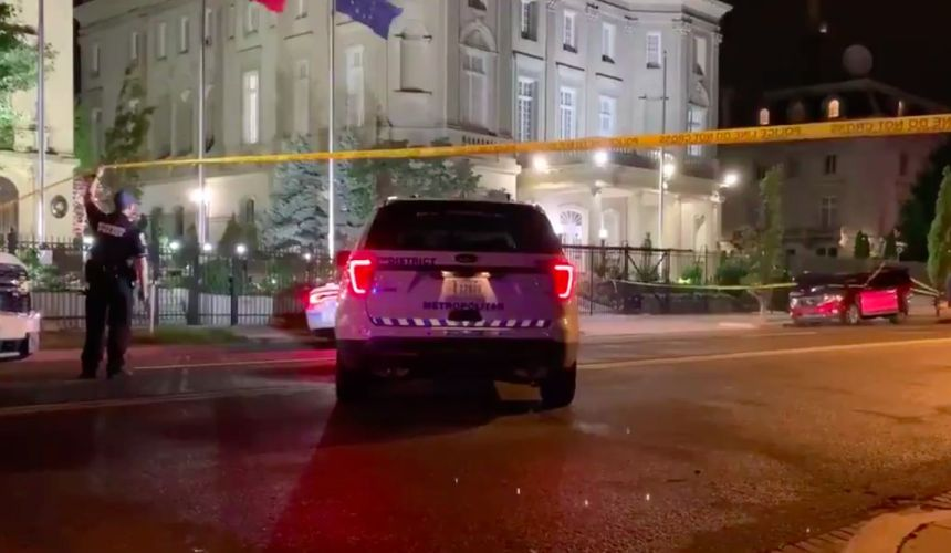 Police arrest suspect in shooting outside Cuba's United States embassy, no injuries