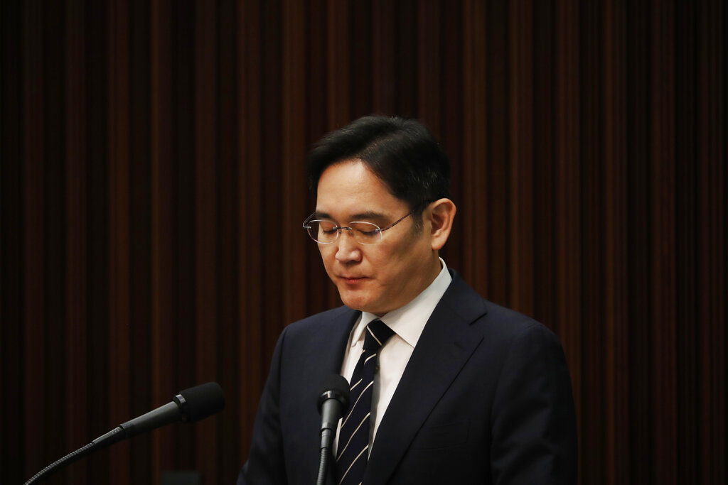 Samsung chief will return to prison for bribery