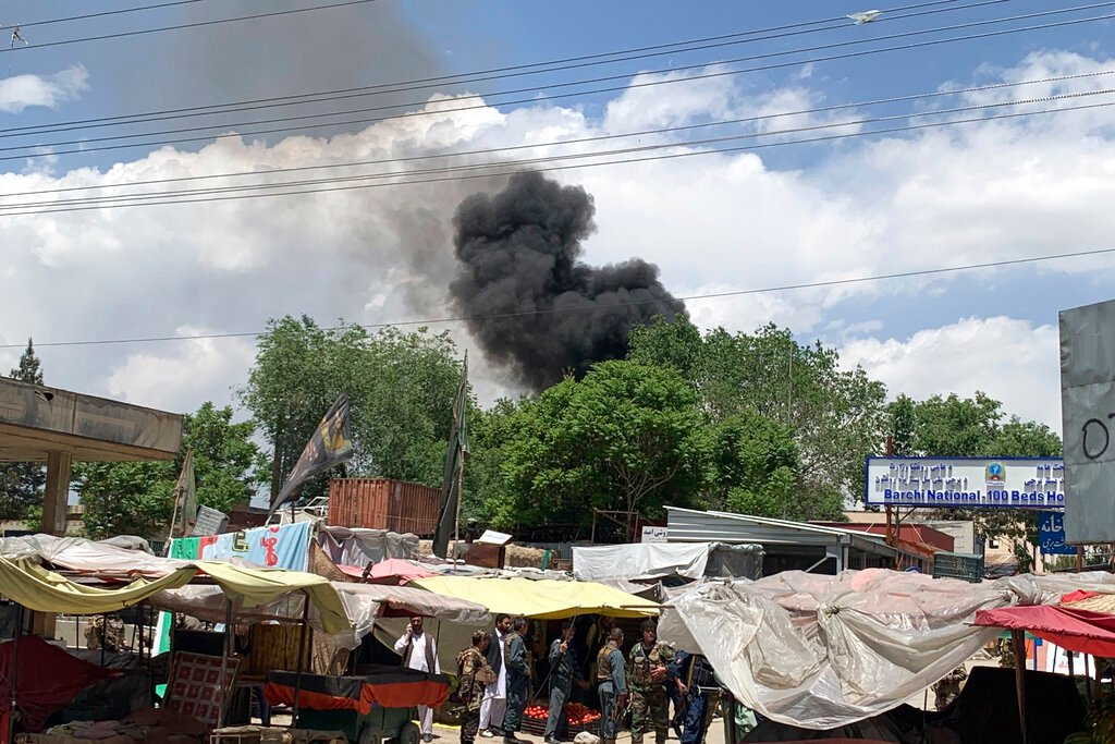 Afghan capital rocked by four bomb blasts