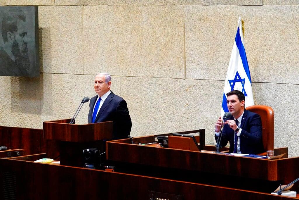 Israeli new power-sharing government sworn in