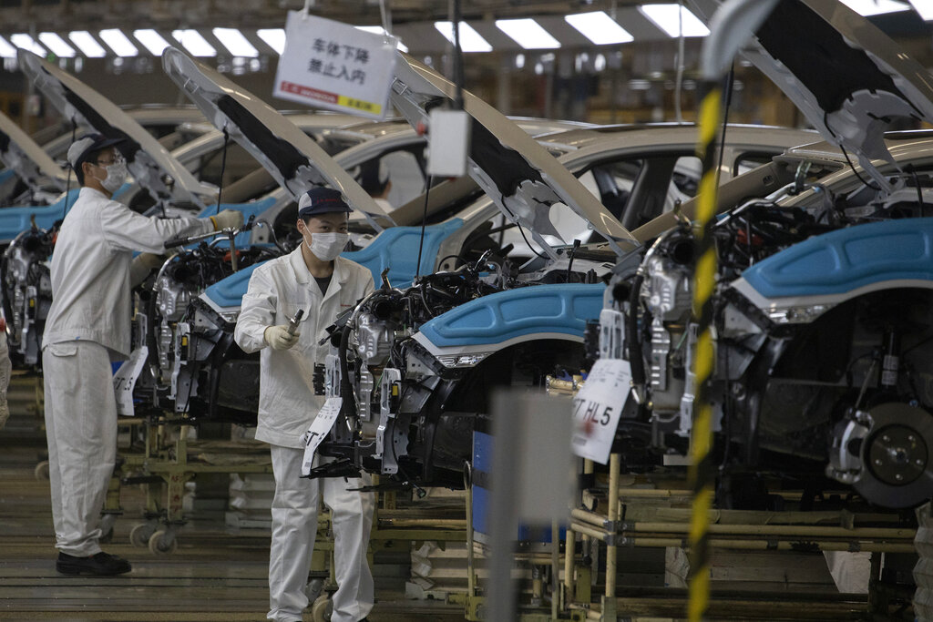 China's factory activity expands at fastest pace in over 3 years