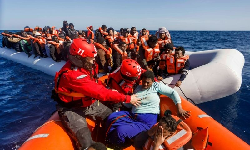 Fears mount over migrants dying 'out of sight' in Mediterranean