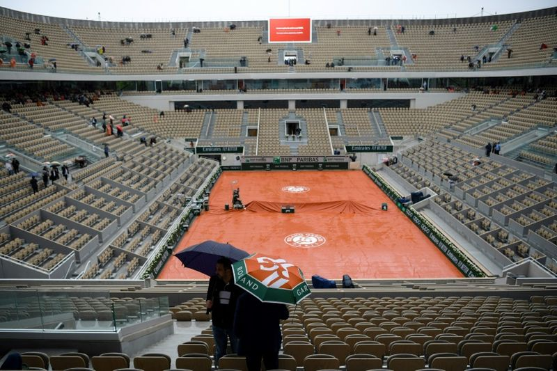 Roland Garros had been scheduled for May but has now been pushed to September