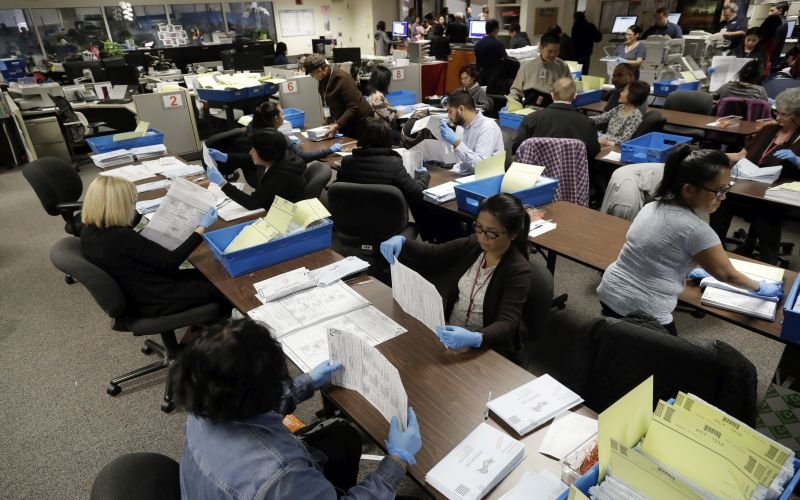 California to Provide Mail Ballots for November Elections to All Voters