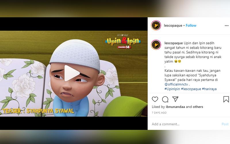 Gara Gara Tersalah Cakap Fizi Dalam Upin Ipin Diserang Netizen Free Malaysia Today