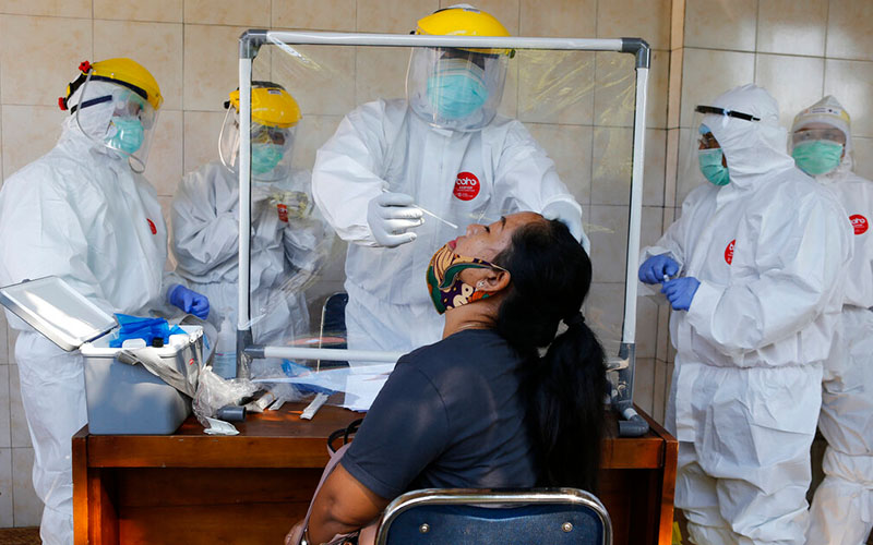 Indonesia reports 1,331 new virus infections, its biggest daily increase