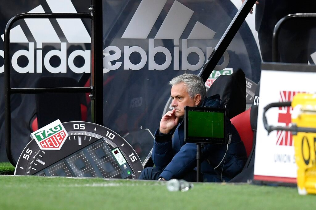 Mourinho questions player's mental strength after Sheffield Utd shock