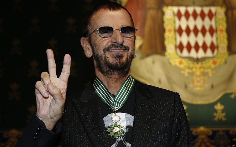 Ringo marks 80th birthday at online gig with Beatles hits