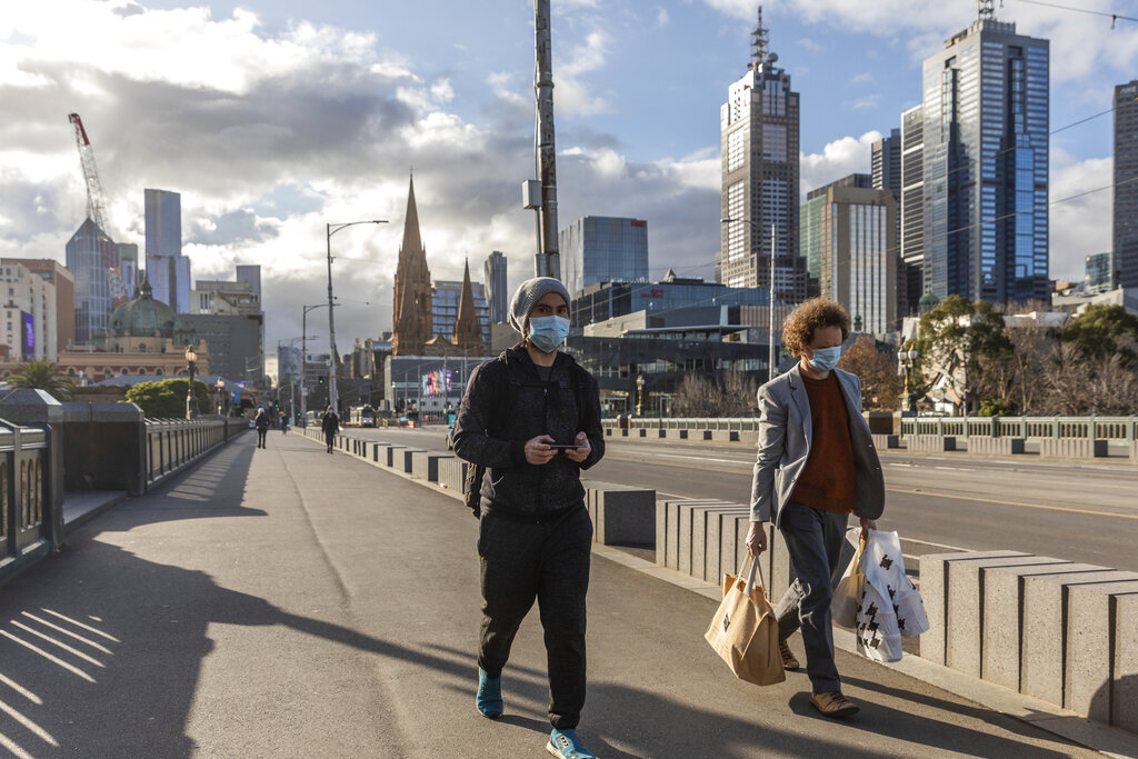 Melbourne enjoys first weekend out of lockdown as virus cases dwindle |  Free Malaysia Today
