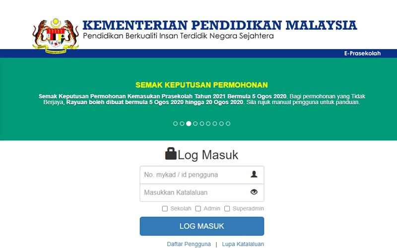 Cara Semakan Penempatan Tahun 1 Pra Sekolah Kpm Bagi Sesi 2021 Free Malaysia Today