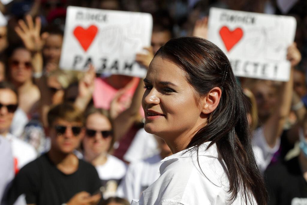Belarus Leader Says He Survived Coronavirus | Voice of ...  |Svetlana Tikhanovskaya