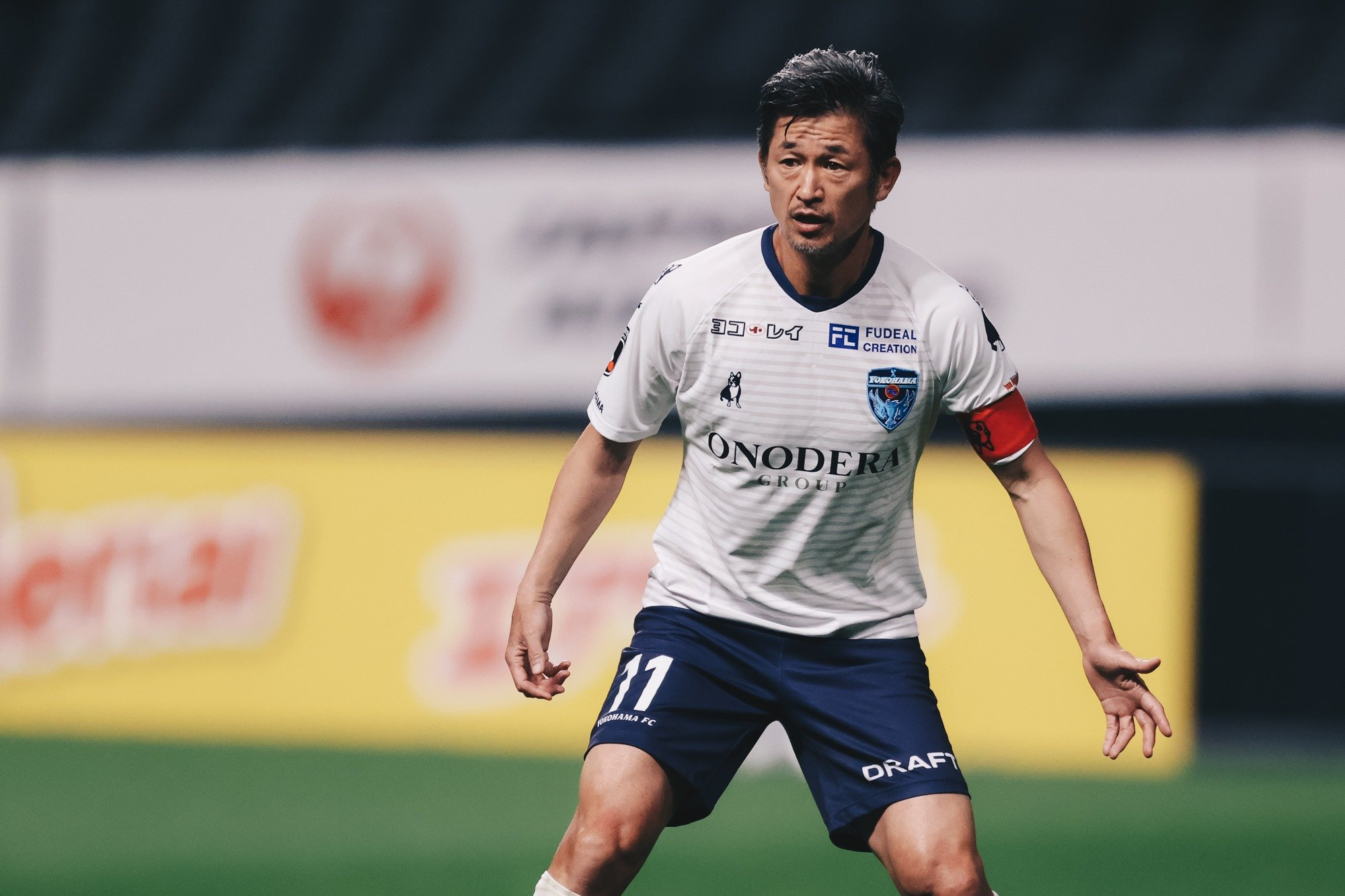 53-year-old Striker Miura Extends Contract For 36th Season