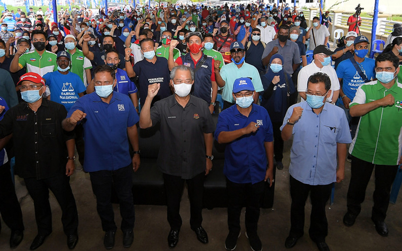 Parti giat berkempen 4 hari menjelang PRN Sabah