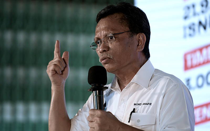 Shafie to call up Mohamaddin over incursion remarks