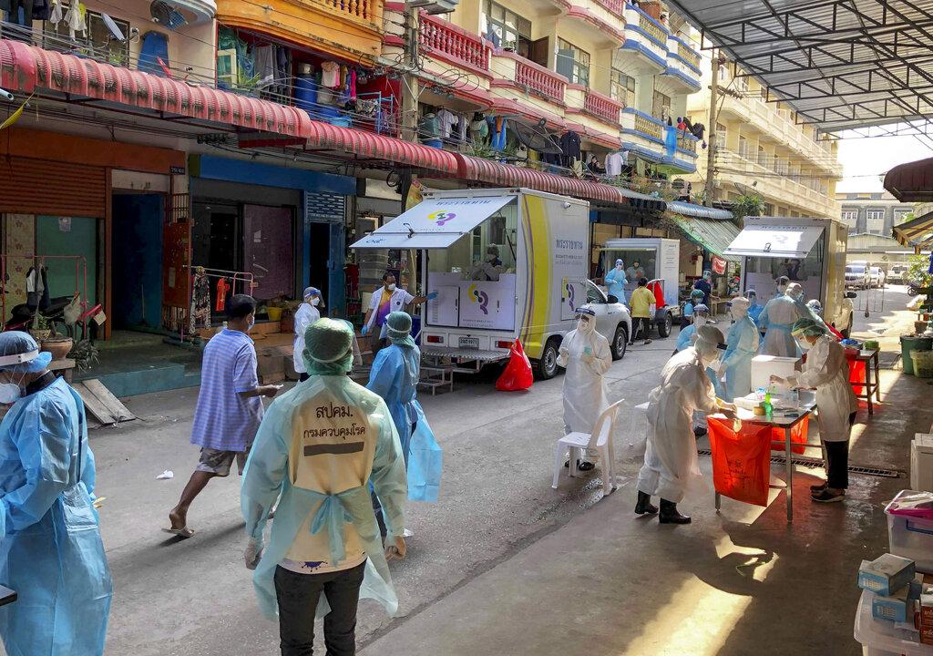 Thailand reports surge in coronavirus cases