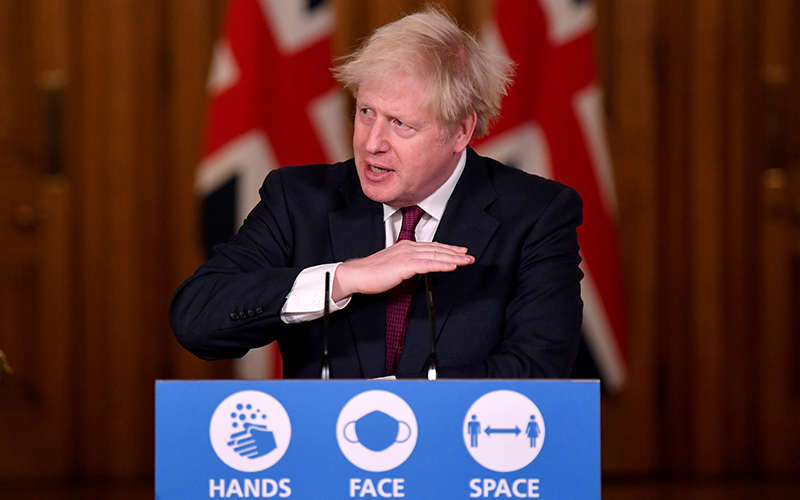 Johnson: Scotland Must Wait a Generation for New Vote