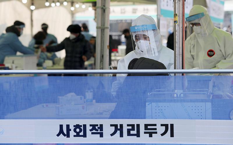 S. Korea's daily coronavirus cases reach new high of 1,241: PM