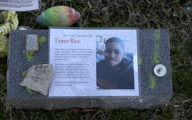Justice Department Declines To Prosecute Cleveland Officers Who Killed Tamir Rice