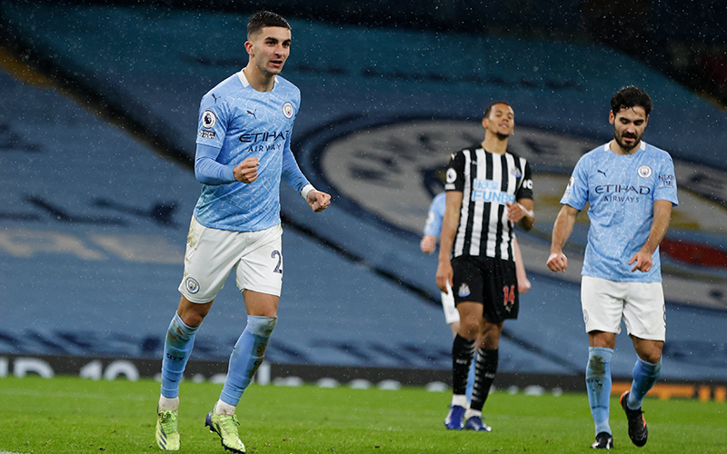 Man City Eases To 2-0 Win Over Newcastle In Premier League
