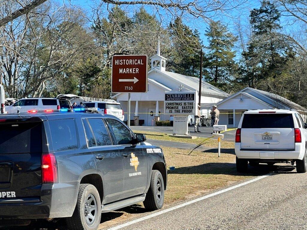 Sheriff's deputy: 1 dead, 1 hurt in shooting at Texas church