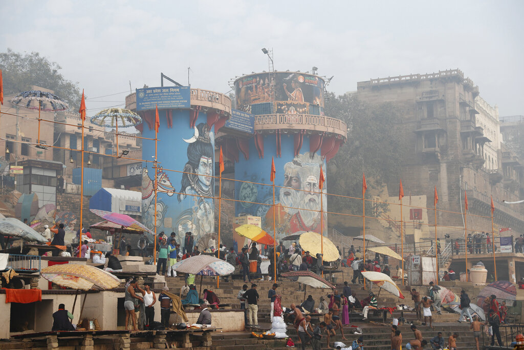 First day of Kumbh Mela in India amid the COVID-19 pandemic