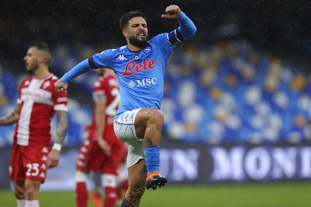Insigne dazzles as Napoli demolish Fiorentina to go third   Free Malaysia  Today (FMT)