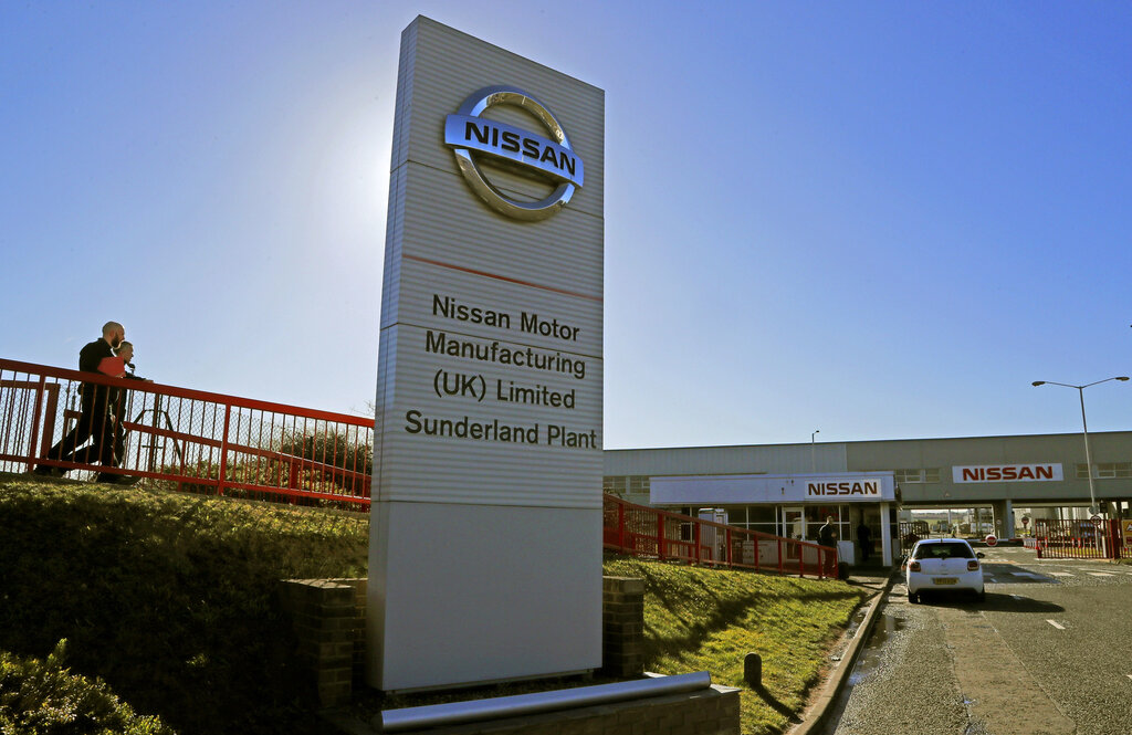 """Nissan commits to UK after Brexit trade deal"""""""